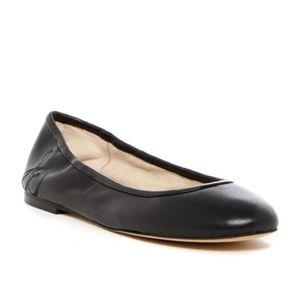 Sam Edelman NWOB Black Leather Fritz Flats